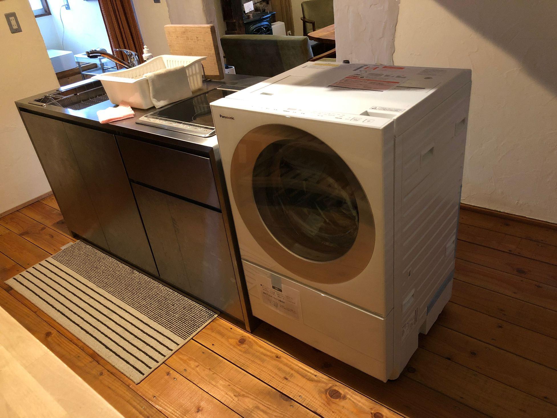 別宅設備(ドラム式洗濯乾燥機)