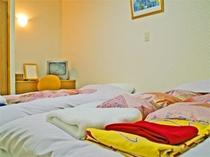 ユニットバス付和洋室ベッドルーム225*300
