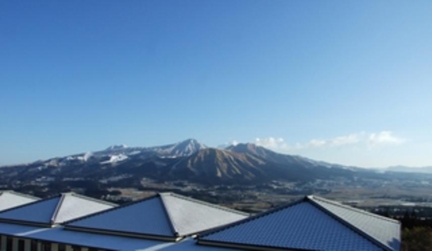 山の景色冬438*750