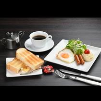こだわりの朝食(洋食)