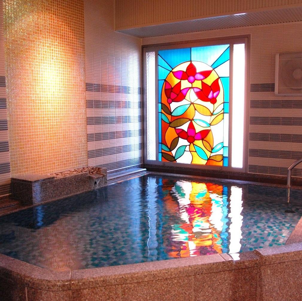 【大浴場】 昭通石の湯 ※毎週火曜日に男女の入れ替えがございます