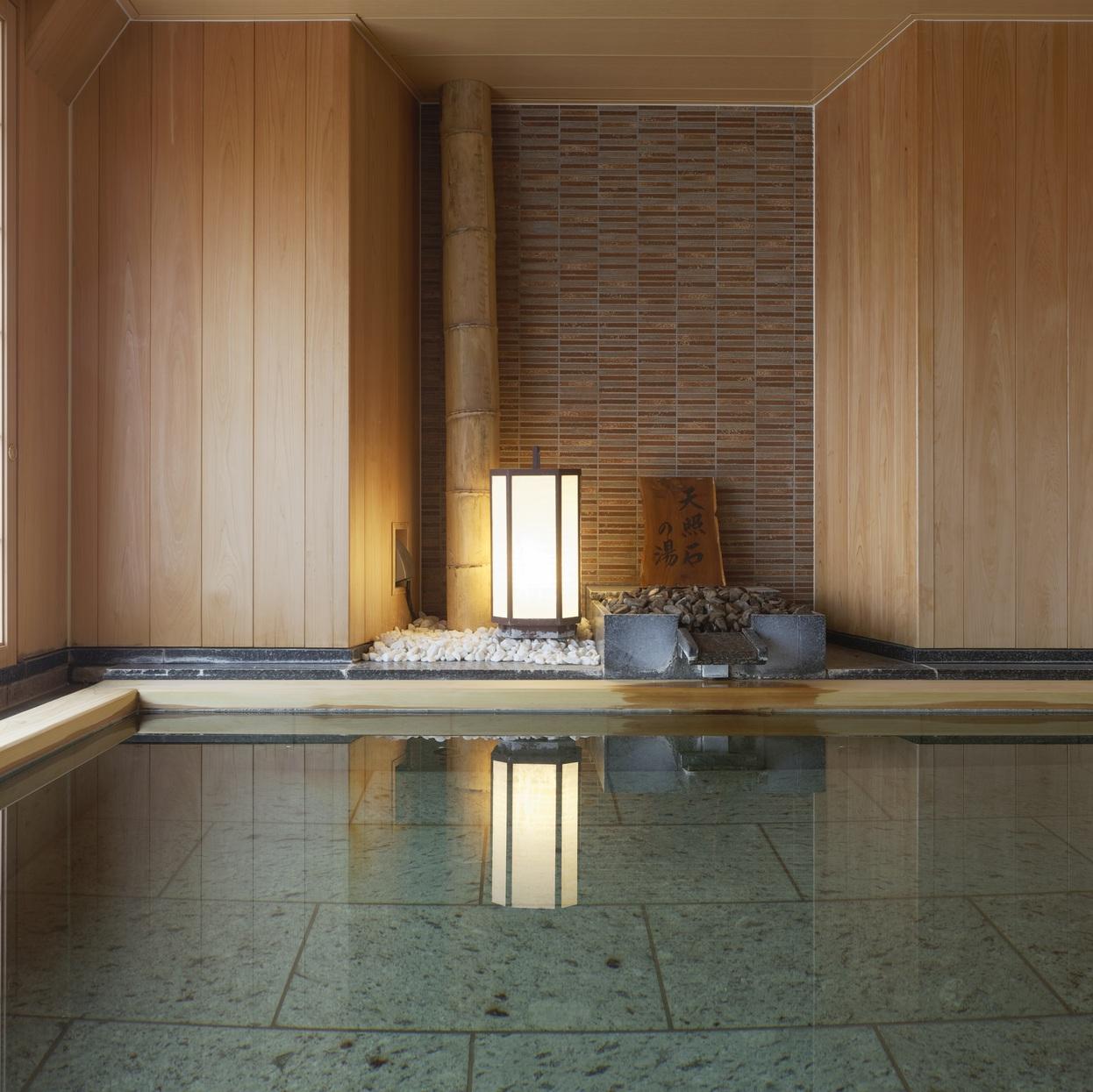 【大浴場】 天照石の湯