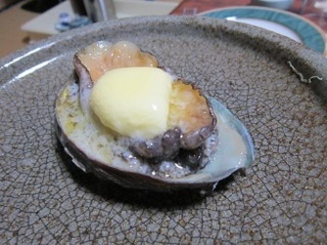 【別注のお料理】 あわびのバター焼き ※こちらのお料理はプランには付いておりません。