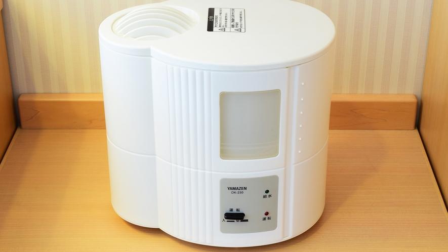 乾燥時期にうれしい加湿器