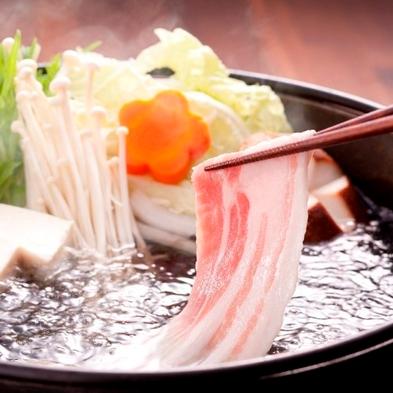 鹿児島に来たのなら!2つの旨味を食べよう!【黒豚&黒牛の2種しゃぶしゃぶ】プラン