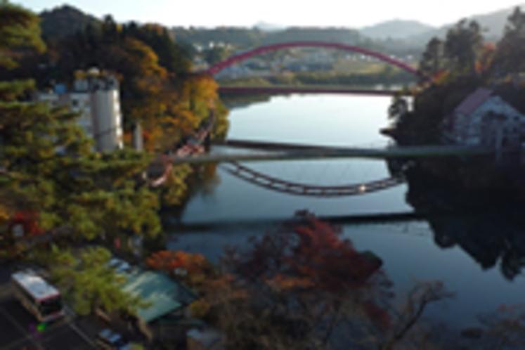会津柳津町の紅葉 (当館より車で60分)