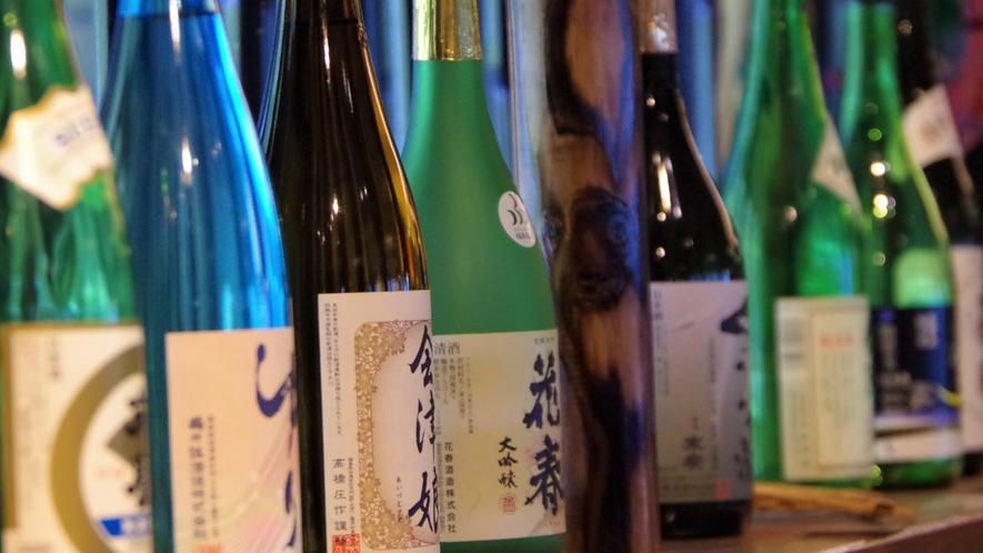 *地酒の館やダイニングでは会津の地酒をご用意しております