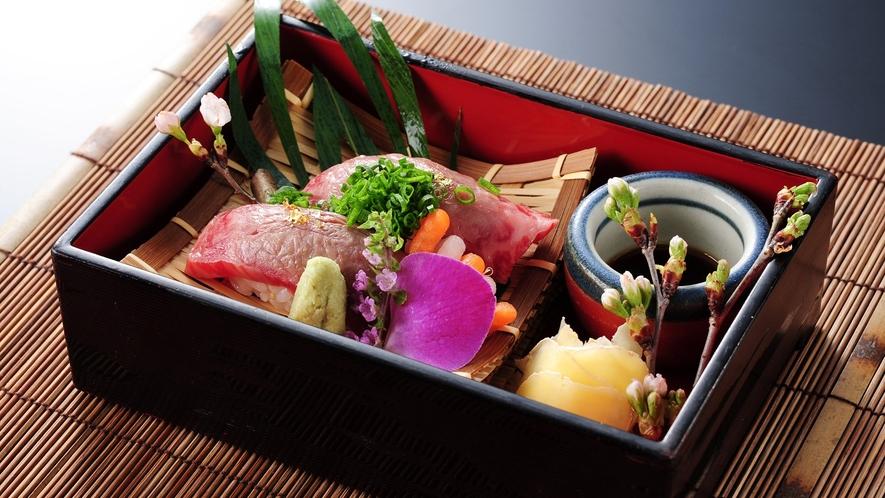 *【別注料理】牛炙り寿司
