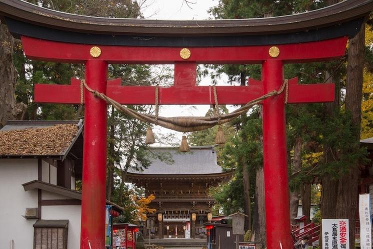 【伊佐須美神社】会津の総鎮守として2000年もの歴史を誇ります。(当館より車で約25分)