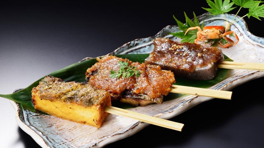 *【別注料理】田楽三種盛り