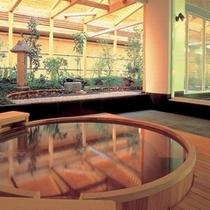 万葉の湯 ヒノキ風呂