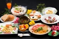 【洋食コース/一例】