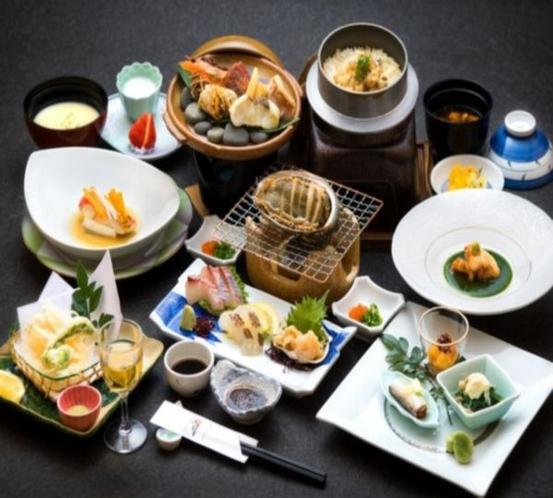 (一例)【食事はシェフにおまかせ!】四季折々の旬を楽しむ♪