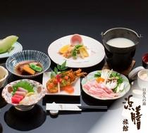伊勢海老・黒豚豆乳しゃぶ御膳/一例