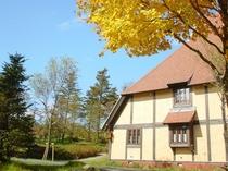 秋の宿泊棟2