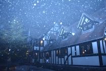 ブリティッシュヒルズの冬
