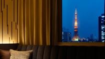 <客室>スーペリアツイン(東京タワービュー)