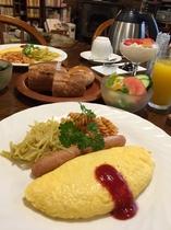 朝食・オムレツ