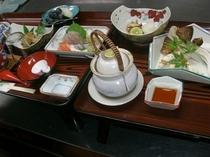 焼き松茸プラン お料理