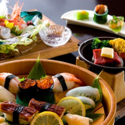 *【夏季限定】寿司盛り会席 500x500