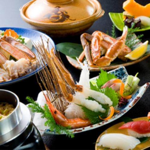*イチオシ蟹のフルコース 500x500