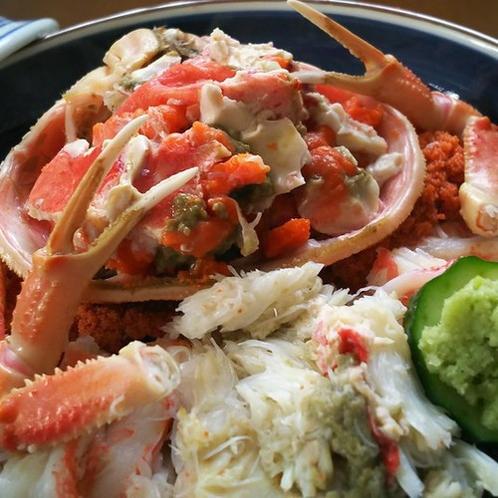 セイコ蟹の丼