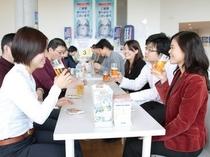 【アサヒビール四国工場】試飲風景