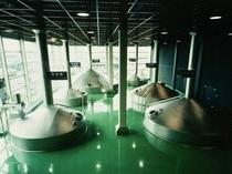 【アサヒビール四国工場】仕込室
