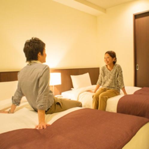 独立したベッドルーム