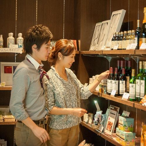 メモリアルショップリョーでは、コーヒーやワインなど様々な物をご用意しております。