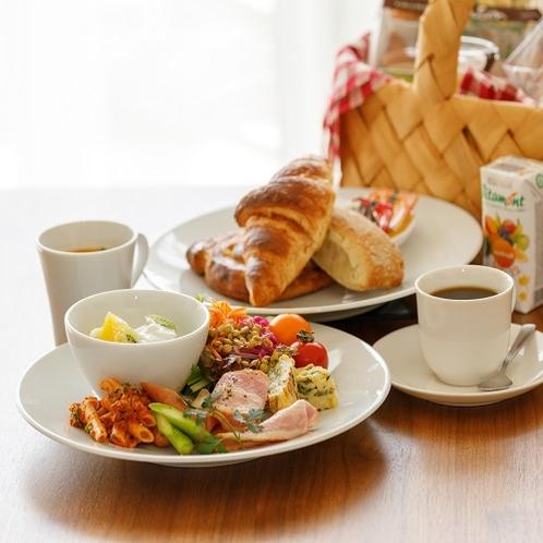 お部屋に届く洋朝食「洋食バスケット」