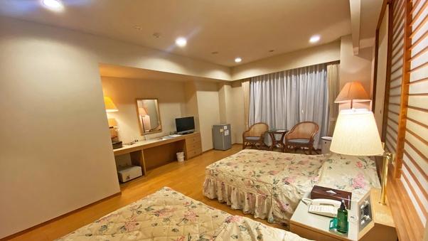 【新館洋室ツイン】一般客室最上階!13階からの絶景を独り占め