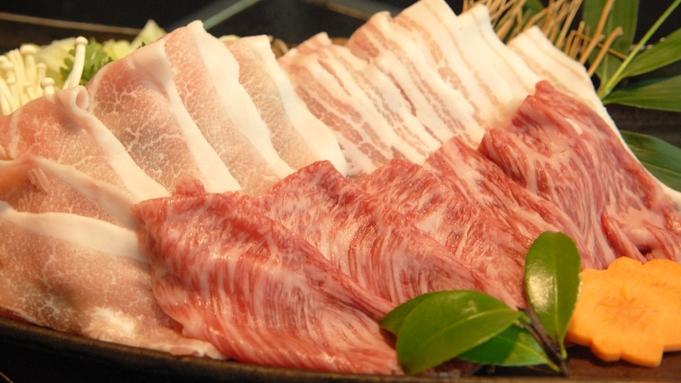 【さき楽・早期割引45】ポイント7倍☆ポッキリプランを特別価格に!飛騨牛と岐阜県産豚の味しゃぶ御膳!