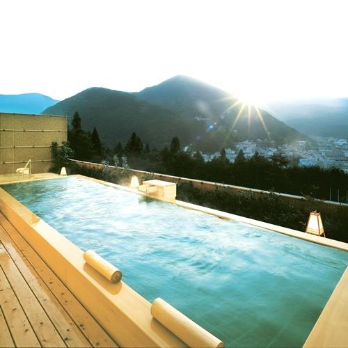 【温泉】花見月の湯 朝日を望む展望露天風呂