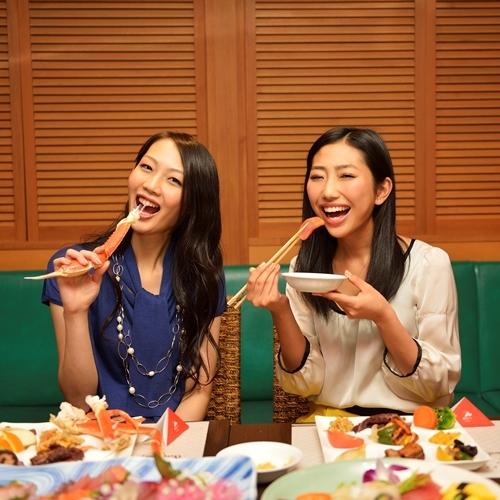 【食事】ディナーバイキング 女性にも大人気の食べ放題