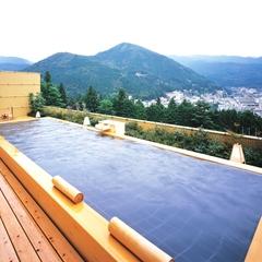 【日帰り入浴&昼食】特選飛騨牛炭焼きサーロインランチ ※個室は付いておりません。