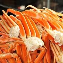 【食事】ディナーバイキング ずわい蟹