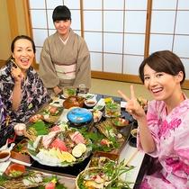 【宿泊プラン】お子様連れご家族旅行やカップルのお客様に♪お部屋食プラン