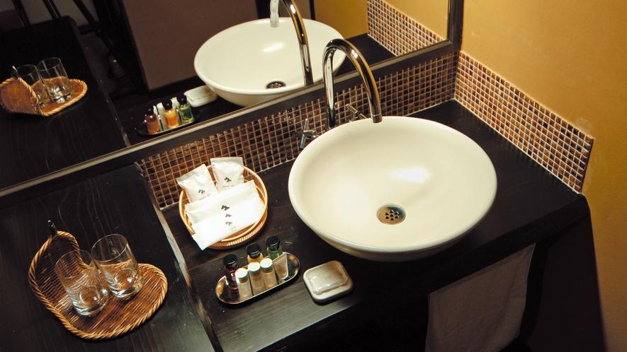 【部屋】アジアン和室03 洗面所
