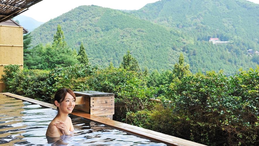 【温泉】花見月の湯展望露天風呂