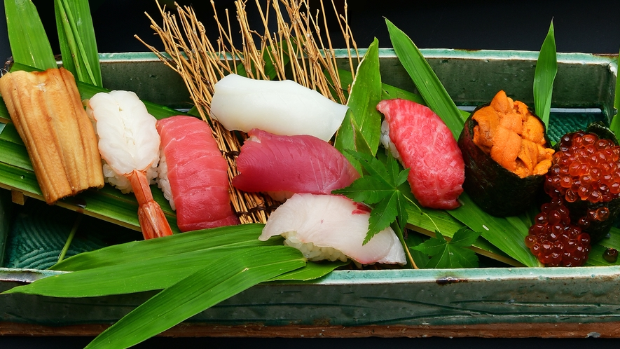 【食事】鮨会席 寿司