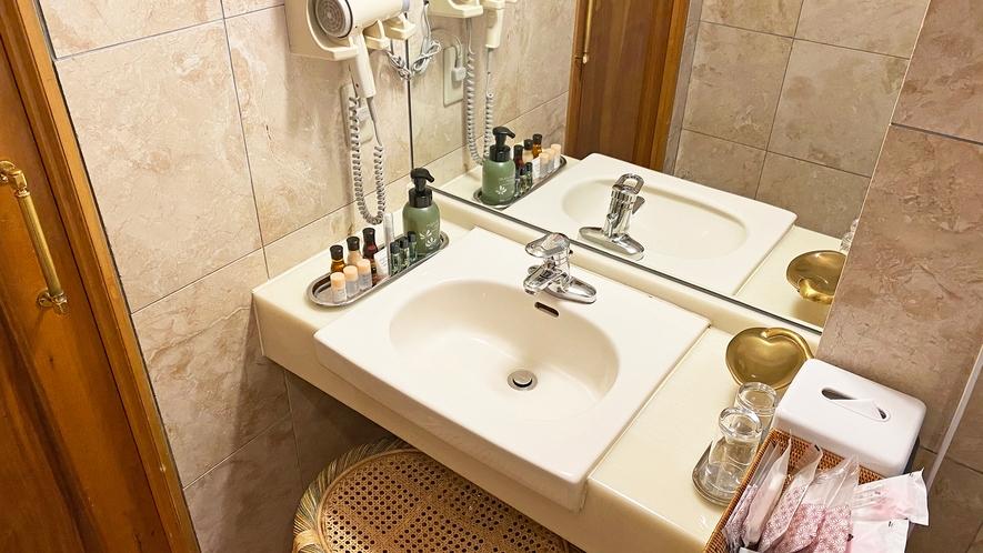【部屋】スイートルームロゼオ03 洗面所
