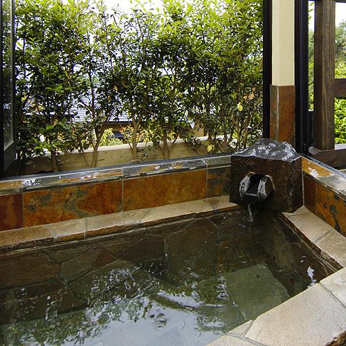 客室露天風呂 洋風呂