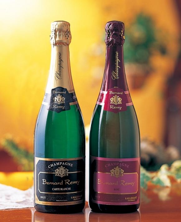シャンパン白&ロゼ