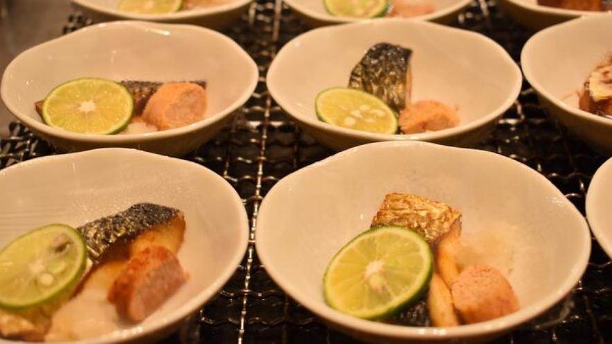 ■本日の焼き魚(イメージ)■