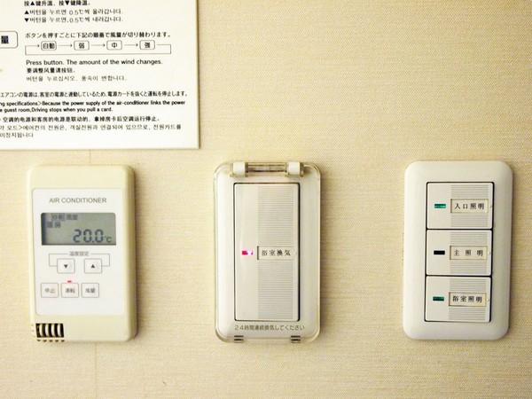 本館客室の空調設備◆