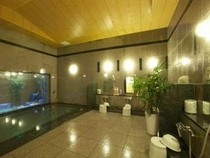 ◆ラジウム人工温泉大浴場◆ご宿泊の方は無料でご利用頂けますよ。