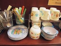 朝食バイキングメイン会場-本館◆お子様用食器