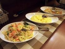 朝食バイキングメイン会場-本館◆ある日のサラダー①(日替わり)