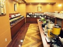 朝食バイキングメイン会場-本館◆お料理提供ライン